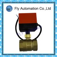 Quality BV2011S Electric ball valve , DN32 Synchronous motor valve DC24V AC220V for sale