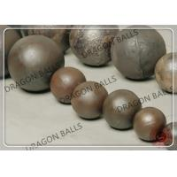 Quality B2 B3 60Mn C45 Steel Grinding Balls , Forged Grinding Steel Ball 20mm - 150mm for sale