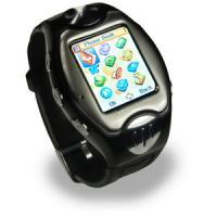 Quality Custom Waterproof Tri-band GSM Multimedia Mobile Phone Watch for sale