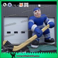 Quality Hockey Sports Event Inflatable Hockey Player for sale