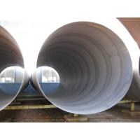 Quality S235 EN10225 Spiral Steel Pipes for liquid use for sale