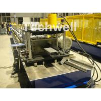 Quality High Productivity Z Shaped Roll Forming Machine With 0-15m/min Forming Speed , Guiding Column Machine Structure for sale