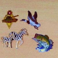 Quality Hard Enamel Cloisonne Pins in Colorful Animal Design for sale