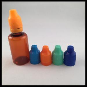 Vapor Juice Plastic Dropper Empty Bottles 30ml PET Dropper Bottles