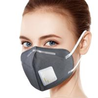 China Anti Virus FFP2 Respirator Mask One Way Valves No Contra - Flow For Construction on sale