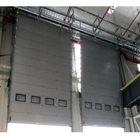 Quality Custom Color Insulated Sectional Garage Doors , Commercial Overhead Door for sale