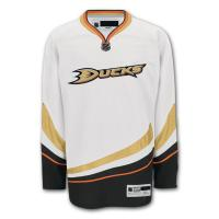 Quality White / Black Youth Authentic Ice Hockey Jerseys College Hockey Uniforms for sale