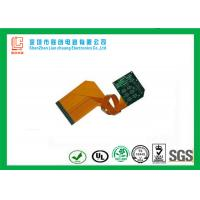 China High performance double sided rigid flex circuit board Green soldermask legend silkscreen on sale