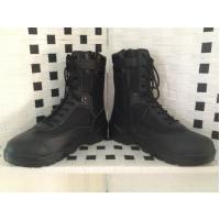Quality Hot sale black leather boot/combat boot for sale