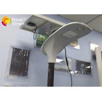 Quality Integrated Solar Powered Outdoor Lights 210lm / W With Microwave Motion Sensor for sale