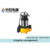 China Stainless Steel Submersible Sewage Pumps Well Pool Water Supply 0.18 KW Min on sale