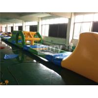 China Heat Welding Inflatable Water Toys Giant Kids Floating Inflatable Water Obstacle Course wholesale