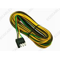 Quality 4 Way Side Color Coded 18 Gauge Bonded Trailer Wiring Harness for sale