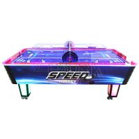 Quality 4 Player Coin Operated Game Machine 8 MM Acrylic Material Speed Hockey Table for sale
