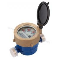 Quality Single Jet Liquid Sealed Vane Wheel Hot/Cold Water Meter for sale
