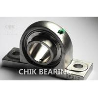 Quality Chrome Steel Tapped Pillow Block Bearing Precision Corrosion Resistant for sale