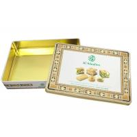 Quality 0.25mm Thickness Tinplate Material Personalized Biscuit Tin for sale