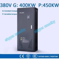 Quality 400/450kw VFD G/P pump  motor AC drive CNC frequency converter Low Voltage frequency inverter Vector Control Transduce for sale