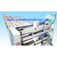 Quality 3 Layer Corrugated Cardboard Production Line / Overhead Conveyor Bridge With Vacuum Suction Stand for sale