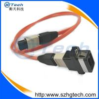 Quality Ribbon Type Multimode 12Core MPO/MTP Patch Cord for sale