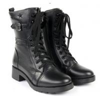 Quality Hot sale leather women fashion boots for sale