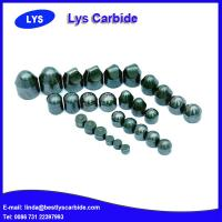 Quality Cemented carbide buttons Q type spherical button for sale