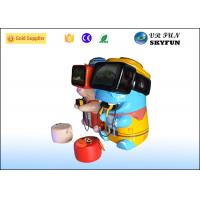 China Lovely Cartoon 10 VR Game Machine For Kids Early Learning CE Approved on sale