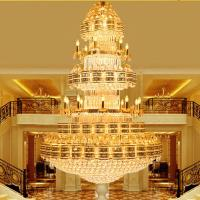 Quality Large hanging chandelier for Project Hotel Lighting Fixtures (WH-NC-08) for sale