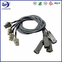 Quality Heavy Duty Wiring Harness with Han A Hood 600V IP44 M20 Connectors for sale