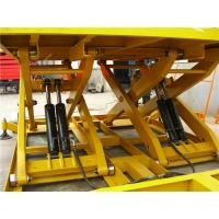 China 500Kg  Self Propelled Scissor Lift Platform / Table 980mm Handle Height on sale