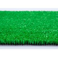 PP Fibrillated Light Traffic Natural Looking Artificial Grass For Terrace 10MM