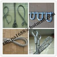 Quality Stainless steel cable snakes,Single head-single strand Pulling grip for sale
