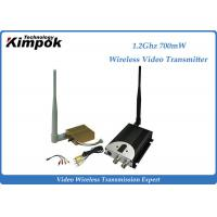 Quality 1400m AV COFDM Wireless Transmitter / Video Transmission Equipment 8CHs for sale