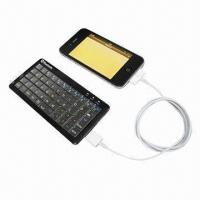 Quality Wireless Bluetooth Keyboard for iPhone/Samsung/iPad for sale