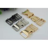 Buy cheap High Quality Zinc Alloy Light Gold 3/4 Inch Quickly Release Metal Buckles For Dog Collar from wholesalers