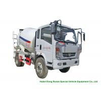 Quality HOMAN 4x2 Mobile Concrete Mixer Truck For Transport With 4m3 Load Capacity for sale