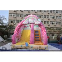Buy cheap good quality inflatable slide, high inflatable slide, inflatable playing slide from wholesalers