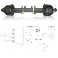 Quality trailer axle,American Axle,axle for sale
