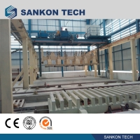 Quality L9458mm 12 Tons Billet Shearing AAC Block Making Machine for sale