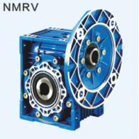 Quality NMRV center distance 40 flange input ratio 10:1 single reduction worm gear reducer for sale