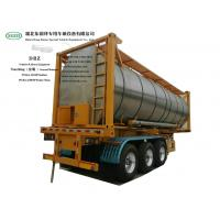 Buy cheap Heating Insulated 30FT Tank Container Stanless Steel For Liquid Phosphoric Acid from wholesalers