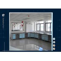 Commercial Working Area Chemistry Lab Furniture Witn High Strength PP Handle