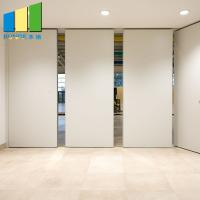 China Folding Movable Partition Soundproof Sliding Acoustic Foldable Partition Walls In Myanmar on sale