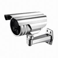 Quality Outdoor Weatherproof IR Camera with Varifocal Lens, 2-piece High Power IR LED for 50m IR Distance  for sale