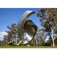 Garden Large Modern Abstract Stainless Steel Decorative Sculpture