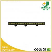 China Hot sale China single row led driving light bar 260w led light bar for off road on sale