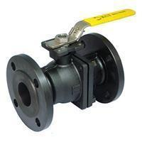 Quality cast Steel Ball Valve RF end 150LB WCB black for sale