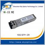 Quality 10g sfp 80km optical transceiver 80km sfp zr module, fiber optic equipment 10g sfp+ for sale