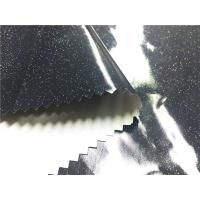 Quality Laminated 0.30mm Synthetic Leather Material With Little Shining Stars for sale