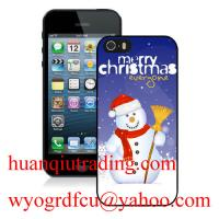 China Hotest Nightmare before christmas iPhone 5,5S case with snowman,Santa Claus,Christmas tree on sale